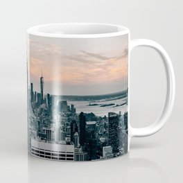 The Empire State Building New York Skyline Coffee Mug