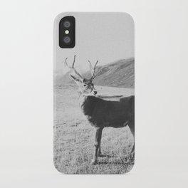 HELLO DEER III iPhone Case