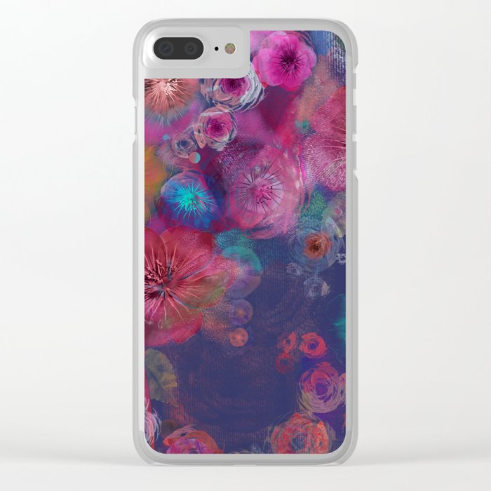 Flower carpet(59) Clear iPhone Case