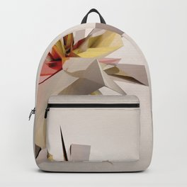 Mondrian Rearranged 3D Backpack