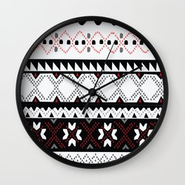 Fair Isle  Wall Clock