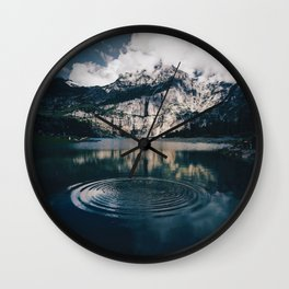 Ripples (Color) Wall Clock