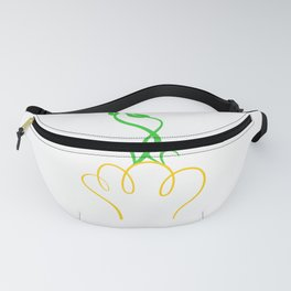 Lamp with plant Fanny Pack