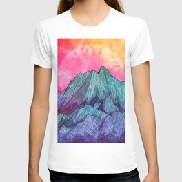 Sunset Sky Mounts T-shirt