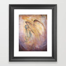 Angel of Death Painting Framed Art Print