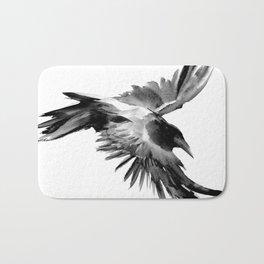 Flying Raven Bath Mat