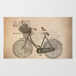 Antique Bicycle Rug