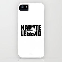 Karate Legend iPhone Case