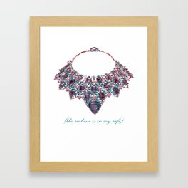 The real one is my safe #4 (Lost Time) Framed Art Print