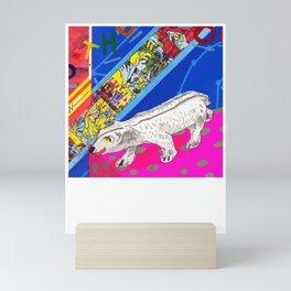 White Bear Mini Art Print