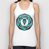 arya Tank Tops featuring Decahedron Hexagon combined! by Hinal Arya