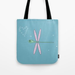 frenchie dragonfly Tote Bag
