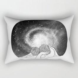 Our imaginary night. Rectangular Pillow