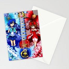 Sailor Mew Guitar #21 - Sailor Mercury & Mew Ringo Stationery Cards