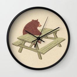 Waiting for the waiter Wall Clock