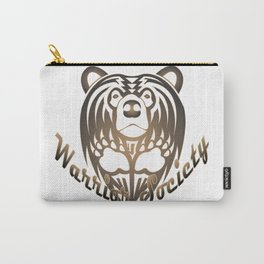 Warrior Society (Bear) Carry-All Pouch