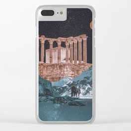 A trip Clear iPhone Case