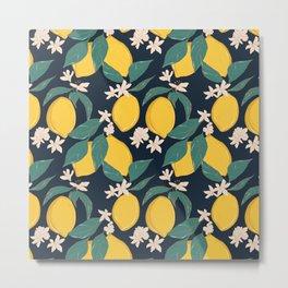 Lemon bloom Metal Print