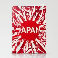 japan Stationery Cards featuring Japan by Danny Ivan