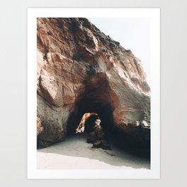 Cave Exploring Art Print