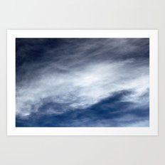 Sky Clouds Art Print