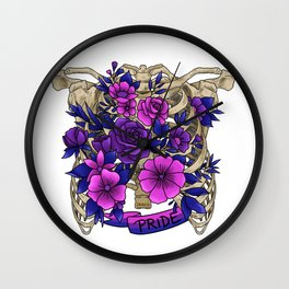 Proud inside and out Wall Clock