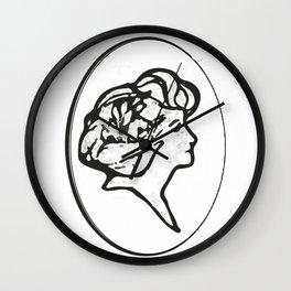 Elegant lady Wall Clock
