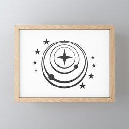 Elite Dangerous: Federation Framed Mini Art Print