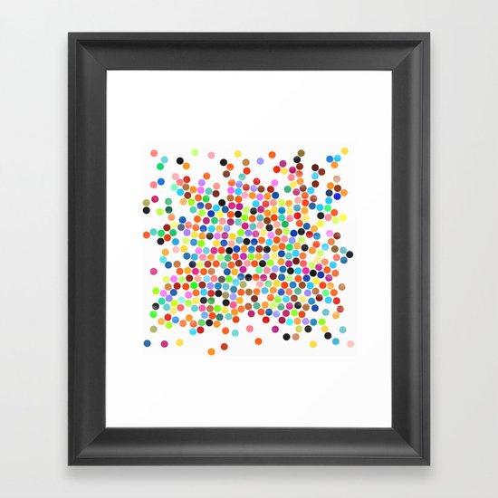 dance 10 Framed Art Print