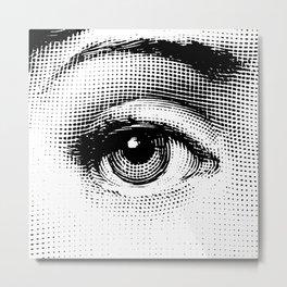 Lina Cavalieri - right eye Metal Print