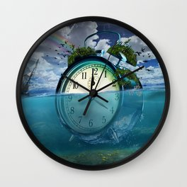 Floating Clock Wall Clock