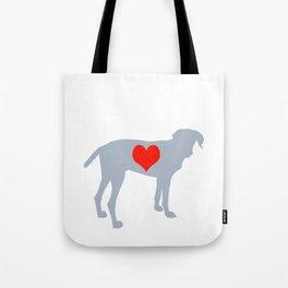 Weim Love Tote Bag
