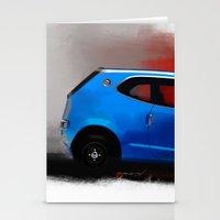 honda Stationery Cards featuring Honda Z by Vadim Artemyev