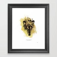 Solitude is independence Framed Art Print
