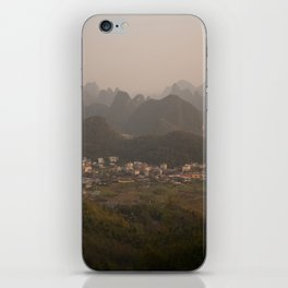 Yangshuo iPhone Skin