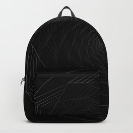 Infinite abstract shape Backpack