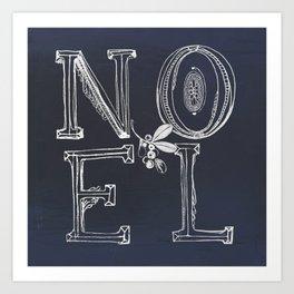 NOEL Art Print