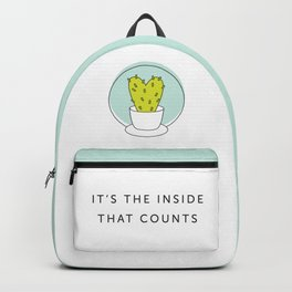 It's the Inside That Counts Backpack
