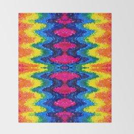Rainbow Gem Throw Blanket