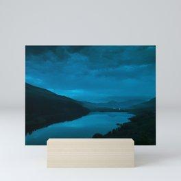 Welsh Weather Mini Art Print