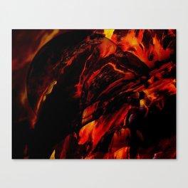 Turbo Fire Canvas Print