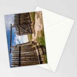 Historic Fort Bridger Gate - Wyoming Stationery Cards