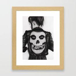 The Crimson Ghost Framed Art Print