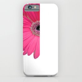 Every Great Dream Begins With a Dreamer Gerber Daisy iPhone Case