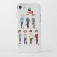 youtube iPhone & iPod Cases featuring Youtube Boys  by Natasha Ramon