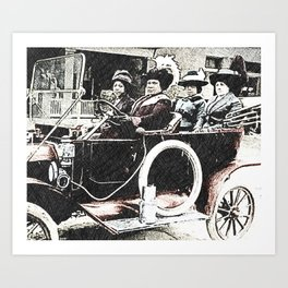 Black Wealth - Madam C.J. Walker Black History Month Art Sarah Breedlove 7789 Art Print