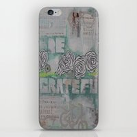 grateful dead iPhone & iPod Skins featuring Grateful by TrishRay