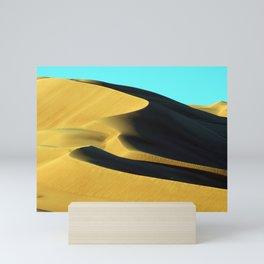 Sand Dunes Sahara Desert Landscape 20 Mini Art Print