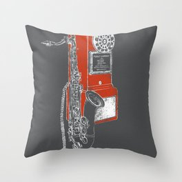 Public Harmony Throw Pillow