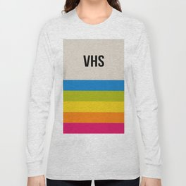 VHS Retro Box Long Sleeve T-shirt